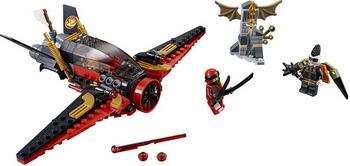 Конструктор Lego Ninjago: Крыло судьбы 70650 конструктор lego ninjago вестник бури 70652