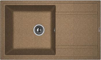 Кухонная мойка Florentina Липси-860 860х510 коричневый FG искусственный камень