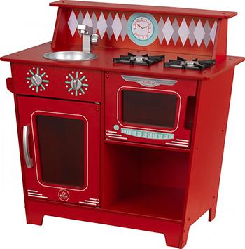 Кухня KidKraft ''Классик'' цв. красный 53362_KE букет игрушка медведи 9шт цв красный в038