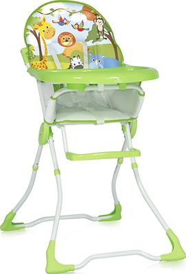 Стульчик для кормления Lorelli Marcel (Candy) Зеленый / Green Jungle 10100321821