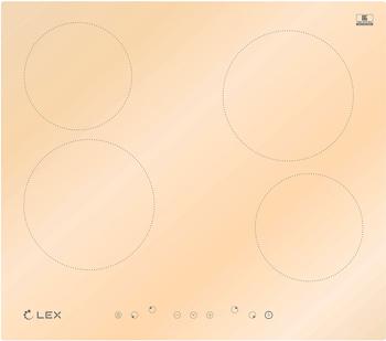 Встраиваемая электрическая варочная панель Lex EVH 640 IV панель варочная pyramida pfa 640 inox luxe