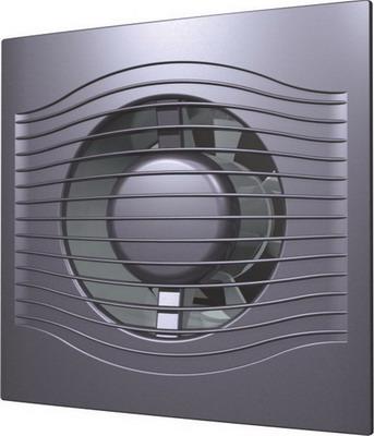 Вентилятор вытяжной с обратным клапаном DiCiTi SLIM 4C Dark gray metal alcatel pixi 4 5 dark gray пакет услуг в комплекте