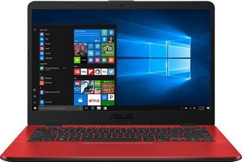 Ноутбук ASUS X 405 UA-BV 924 T (90 NB0FA5-M 13040) красный цена 2017