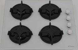 Встраиваемая газовая варочная панель Candy PVL 64 SGB встраиваемая газовая варочная панель candy clgc 64 sp gh