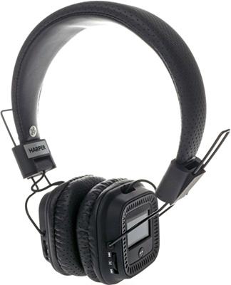 Наушники Harper HB-411 black аудио наушники harper bluetooth наушники harper hb 207 black