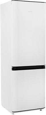 Двухкамерный холодильник Позис RK FNF-170 белый с черными накладками двухкамерный холодильник позис rk 101 серебристый металлопласт