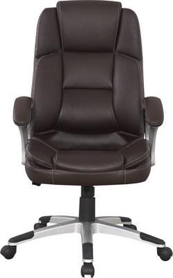 Кресло College BX-3323 Коричневое кресло руководителя college bx 3323 black