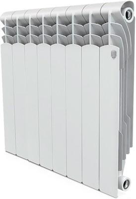 Водяной радиатор отопления Royal Thermo Revolution Bimetall 500 – 8 секц. royal thermo биметаллический revolution bimetall 500 8 секций