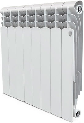 Водяной радиатор отопления Royal Thermo Revolution Bimetall 500 – 8 секц. тепловая завеса royal thermo rta т9 page 8
