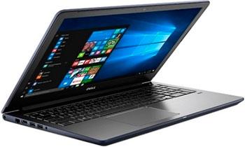 Ноутбук Dell Vostro 5568-9057 синий 4400 мач 6 клеток аккумулятор для ноутбука dell vostro 3400 3500 3700 0 0txwrr 0ty3p4 312 0997 4jk6r 7fj92
