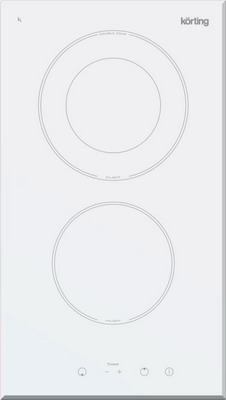Встраиваемая электрическая варочная панель Korting HK 32033 BW таймер tricolor hk atv 10 lr14