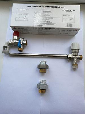 Комплект быстрого монтажа ACV бойлера косвенного нагрева