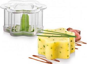 Формочки для придания блюдам формы Tescoma PRESTO FoodStyle цветы 2шт 422220 ветчинница tescoma presto с термометром высота 17 см