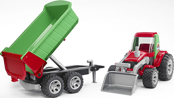 Трактор Bruder ROADMAX 20-116 ziane chunky 116 3