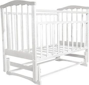 Детская кроватка Агат Золушка-3 Белый обычная кроватка агат 52103 золушка 3 вишня
