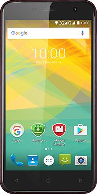 Мобильный телефон Prestigio Muze B3 Dual SIM Wine планшет prestigio muze 3708 3g pmt3708