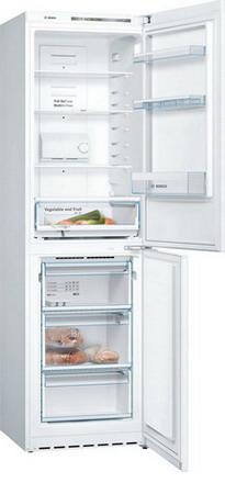 Двухкамерный холодильник Bosch KGN 39 NW 14 R холодильник bosch kgn39nw13r двухкамерный белый