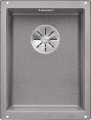 Кухонная мойка BLANCO SUBLINE 320-U SILGRANIT алюметаллик с отв.арм. InFino 523408 blanco statura 160 u