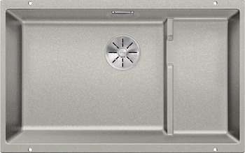 Кухонная мойка BLANCO SUBLINE 700-U Level SILGRANIT жемчужный с отв.арм. InFino 523541 кухонная мойка blanco subline 700 u silgranit алюметаллик