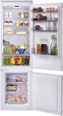 Встраиваемый двухкамерный холодильник Candy CKBBS 182 двухкамерный холодильник don r 295 b