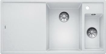 Кухонная мойка BLANCO AXIA III 6 S белый чаша справа разделочный столик ясень 523466 blanco lexa 6 s чаша справа шампань