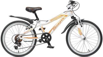 Велосипед Stinger 20 AHV.FIONA.10 WT5 20'' Fiona белый-фиолетовый stinger stinger велосипед fiona kid 20