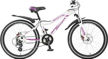 Велосипед Stinger 24'' Fiona 11'' белый 24 AHD.FIONA.12 WT5 stinger stinger велосипед fiona kid 20
