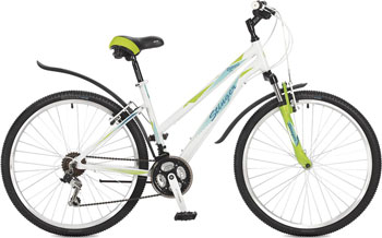 Велосипед Stinger 26'' Element lady 17'' белый 26 AHV.ELEML.17 WH7 велосипед stinger element lady d 26 2016