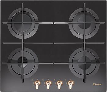 Встраиваемая газовая варочная панель Candy CVG 64 STG GH встраиваемая газовая варочная панель candy clgc 64 sp gh