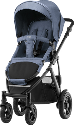 Коляска Britax Roemer Smile 2 Blue Denim 2000027239 универсальная коляска smile line cristina 2 в 1 07 blue gray