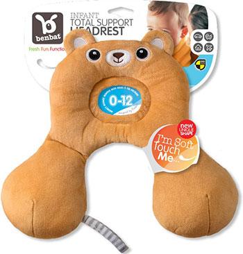 Подушка для путешествий Benbat HR 211 0-12 мес медвежонок подушка подголовник benbat мишка цвет светло коричневый