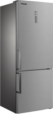 Фото - Двухкамерный холодильник Toshiba GR-RB 440 WE-DMJ(02) двухкамерный холодильник hitachi r vg 472 pu3 gbw