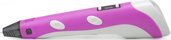 где купить 3D ручка UNID SPIDER PEN LITE с ЖК дисплеем розовая 6400 P дешево