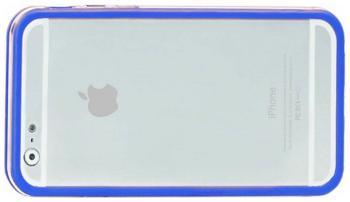 Бампер Promate Bump-i6 синий бампер promate bump i6 оранжевый