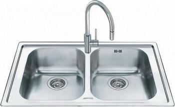 Кухонная мойка Smeg LL 862-2 мойка vstq50 2 smeg