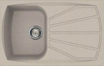 Кухонная мойка Smeg LSE 791 AV-2 овес (GRANITEK) мойка lse40a 2 smeg