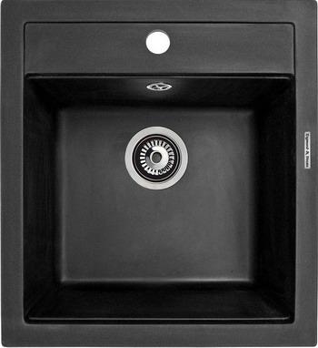 Кухонная мойка Zigmund amp Shtain PLATZ 465 черный базальт