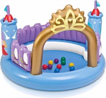 Надувной бассейн сухой Intex Волшебный замок 130х91 см 48669