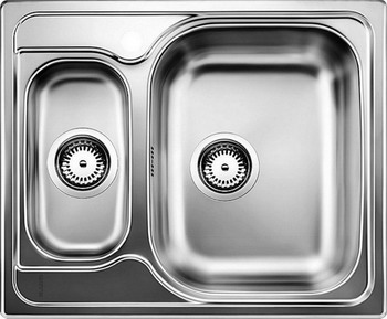 Кухонная мойка BLANCO TIPO 6 нерж. сталь матовая blanco tipo 8 compact нерж сталь матовая