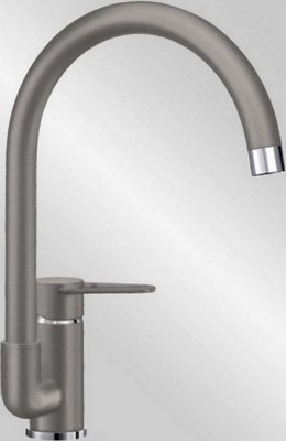 Кухонный смеситель BLANCO JETA серый беж blanco alta 512319 tap mixing valve oriental style chrome by blanco