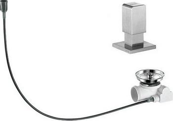 Набор доукомлектации клапаном-автоматом BLANCO 517549 ручка управления levos chrome 221901 blanco