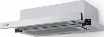 Встраиваемая вытяжка Lex HUBBLE 600 INOX вытяжка lex mini 600 inox настенная механическое 37дб 420м3 час нержавеющая сталь черное стекло
