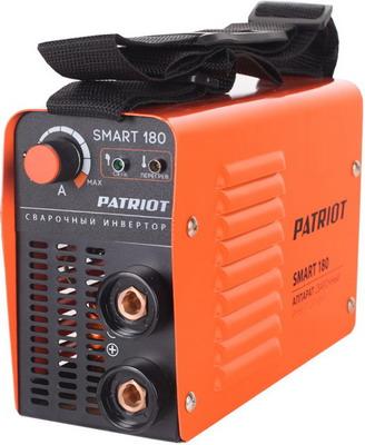 Сварочный аппарат Patriot SMART 180 MMA сварочный инвертор patriot smart 200 mma