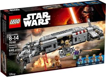Конструктор Lego Star Wars Военный транспорт Сопротивления 75140 джинсы мужские g star raw 604046 gs g star arc