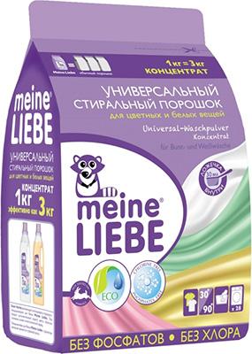 Универсальный стиральный порошок Meine Liebe Концентрат 1000 г ML 31201 стиральный порошок meine liebe для белых вещей oxi эффект концентрат 1000 г
