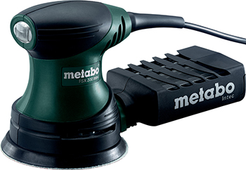 Эксцентриковая шлифовальная машина Metabo FSX 200 Intec 609225500 metabo fsx 200 intec