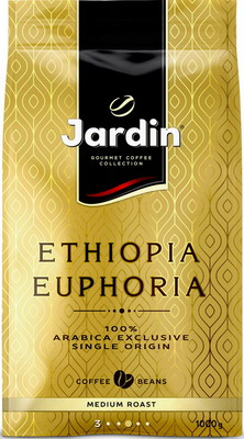 Кофе зерновой Jardin Ethiopia Euphoria 1кг educational change in ethiopia