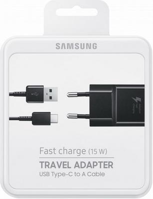 Сетевое зарядное устройство+универсальный DATA кабель Samsung EP-TA 20 EBECGRU сетевое зарядное устройство vsp borasco 2 usb 2 1a дата кабель type c 1м черный