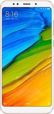 Мобильный телефон Xiaomi Redmi 5 Plus 4/64 GB золотистый новая мода поощрение супер комбо 5 0 x7 смартфон мобильный телефон