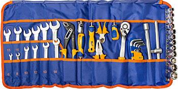 Набор инструментов разного назначения Kraft KT 703003 43 предмета цена